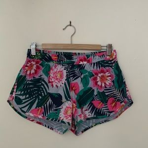 Old Navy Floral Tropical Active Shorts